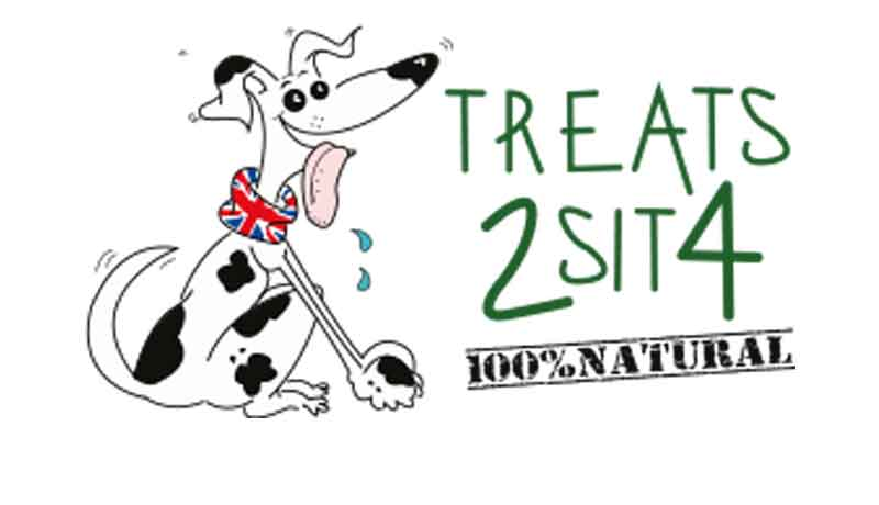 Treats 2 Sit 4 Logo