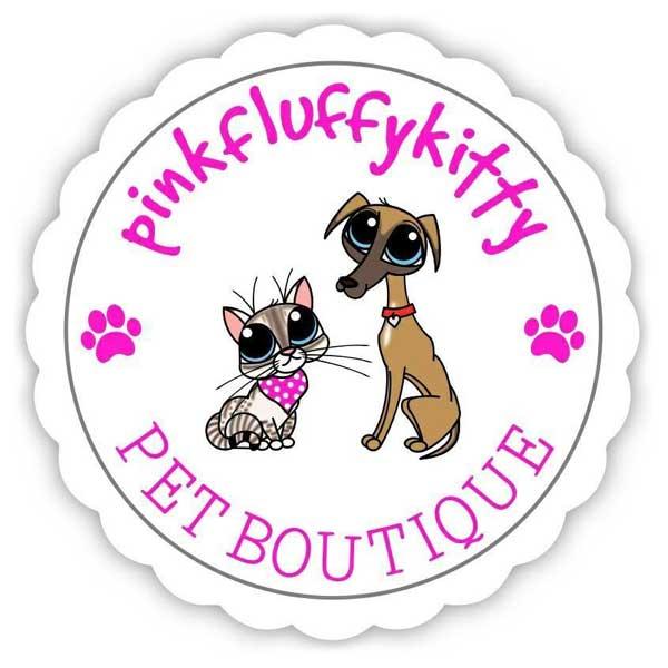 Pink Fluffy Kitty Logo